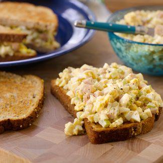 Deviled Egg & Ham Salad