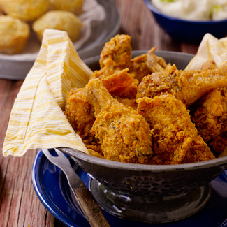 Down-Home Southern Fried Chicken