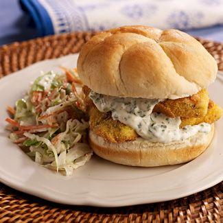 Southern-Style Fried Fish Sandwich