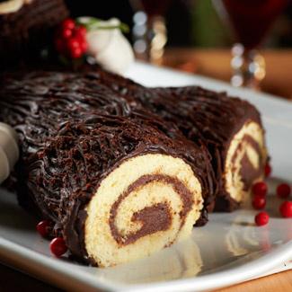 Christmas Yule Log (Buche de Noel)