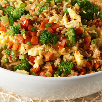 Five-A-Day Fried Rice