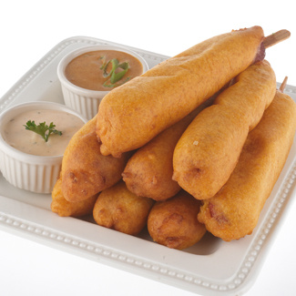 Batter Fried Corn Dogs