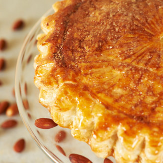 Almond Cream-Stuffed Pastry (Pithiviers)