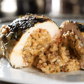 Japan stuffed breast