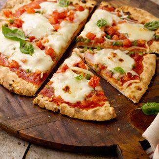 Grilled Garden-Fresh Pizza