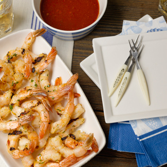 Grilled Sweet & Sour Shrimpe
