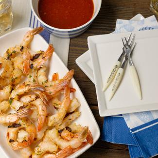 Grilled Sweet & Sour Shrimpe