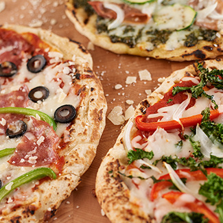 Grilled Party Pizzas