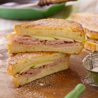 Ham Apple Monte Cristo Sandwiches David Venables Recipes Qvc