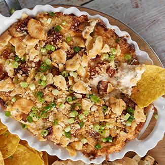 Hot Crab Jalapeño Popper Dip