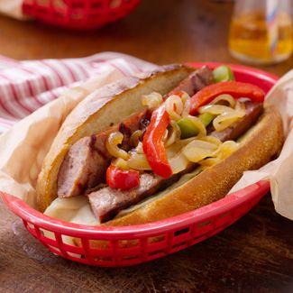 Italian Grilled Sausage Sandwich