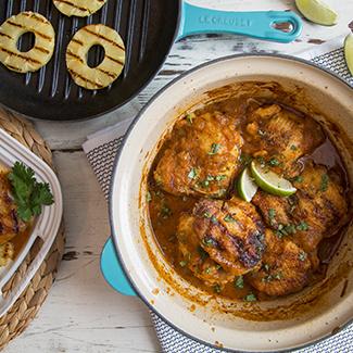 Braised Chicken al Pastor