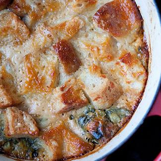 Cheese & Onion Panade