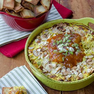 Warm Curry Chicken Dip