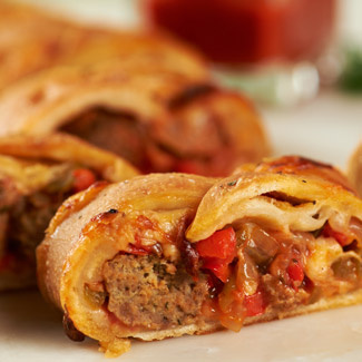Mini Meatball Stromboli David Venables Recipes Qvc Recipes