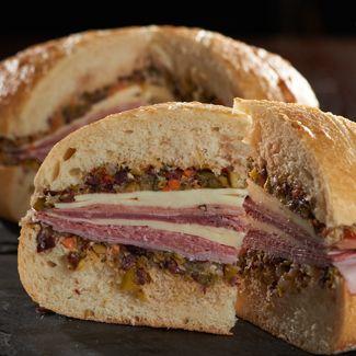 Italian Muffuletta Sandwich