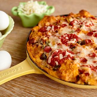 Pepperoni Pizza Strata