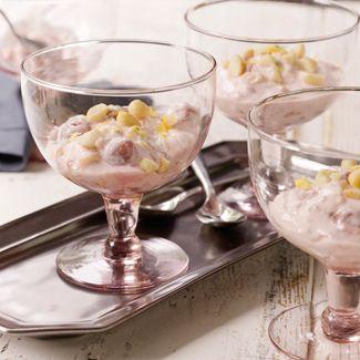 Pink Stuff with Macadamia Nuts & Lemon Zest