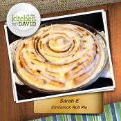 Sarah E.&mdash;Cinnamon Roll Pie<