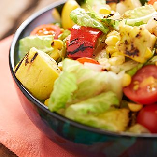 Grilled Chopped Salad with Home-Style Ranch
