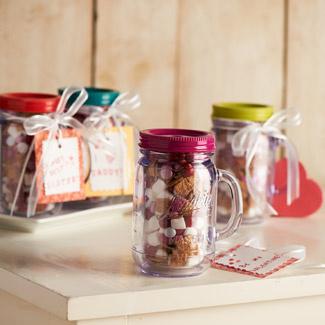 Jill's Valentines Day Mason Jar Gift
