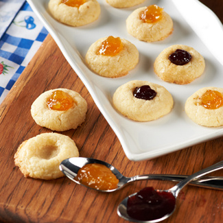 New England Jam Cookies