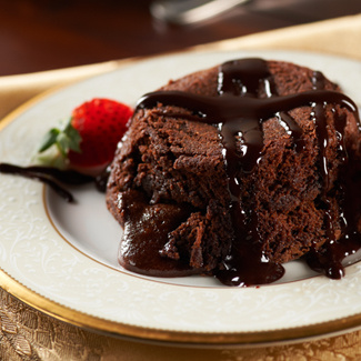 Easy Chocolate Lava Cake