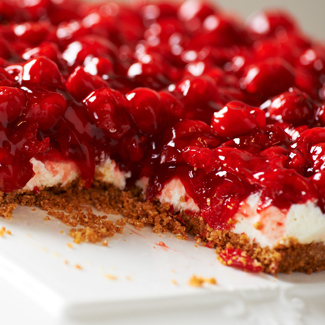 Grandma Metzger's Cream Cheese Cherry Delight