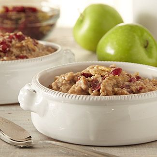 Instant Apple-Snickerdoodle Oatmeal