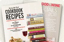 FOOD & WINE Best of the Best cookbook & Cocktail Guide 2011