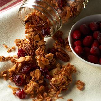 Cranberry Honey Nut Granola