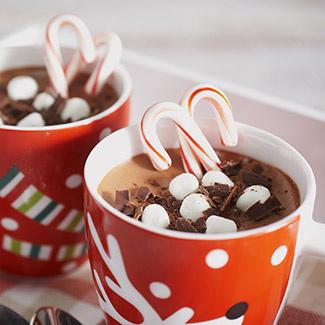 Frozen Hot Chocolate Mousse