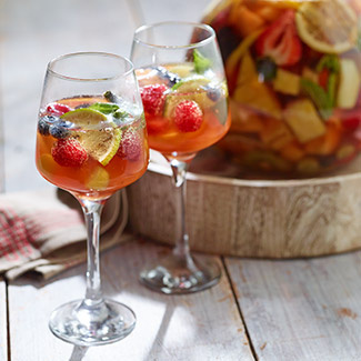 Grilled Fruit Sangria