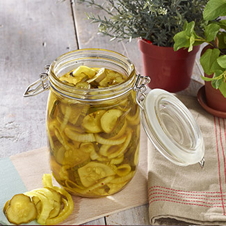 Icebox Bread & Butter Pickles