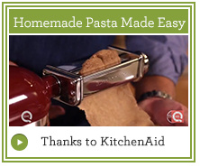 How to Use KitchenAid Pasta Roller Attachment