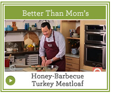 How to Make Honey-Barbecue Turkey Meatloaf