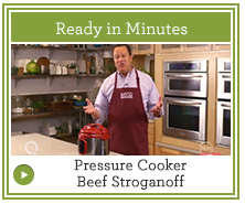 How to Make Pressure Cooker Beef Stroganoff