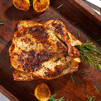 Lemon & Rosemary-Stuffed Chicken