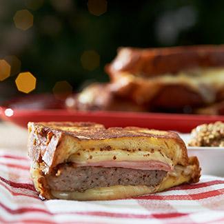Homemade Sausage Monte Cristo
