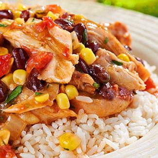 Santa Fe Slow Cooker Chicken