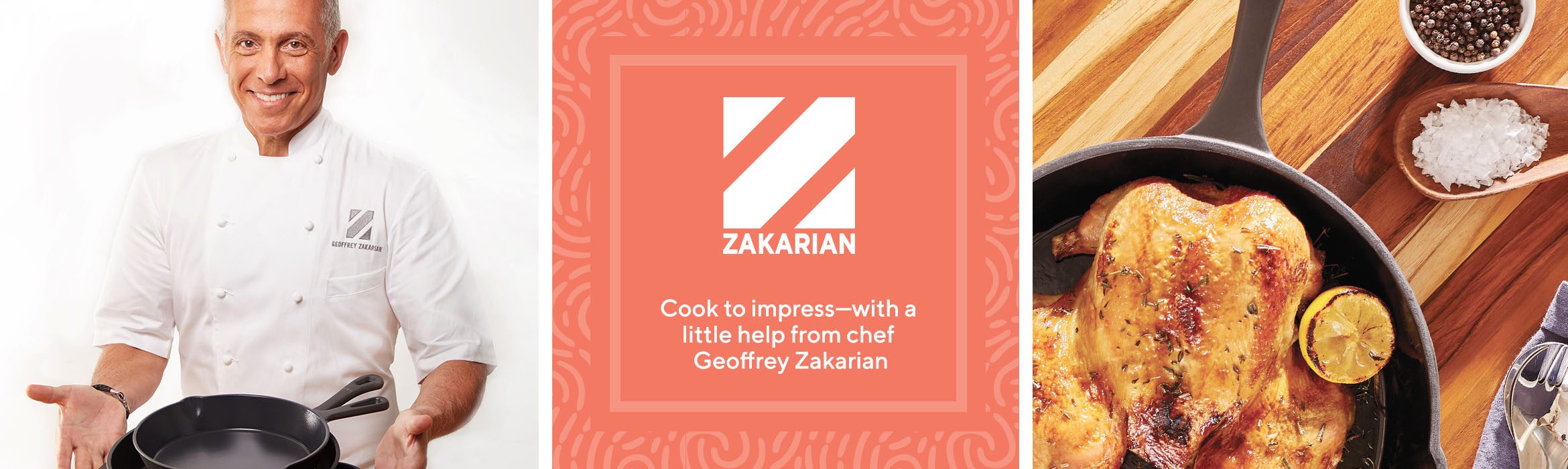 Cook to impress—with a little help from chef Geoffrey Zakarian