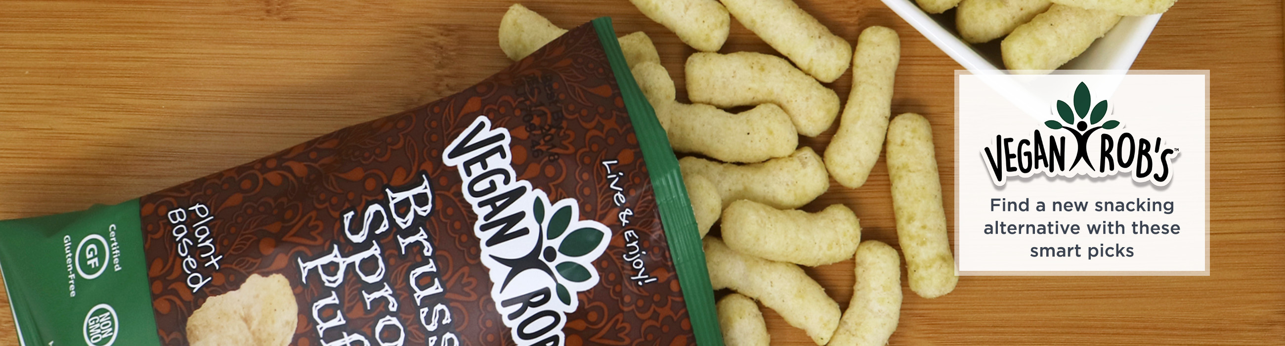 Vegan Rob's. Find a new snacking alternative with these smart picks
