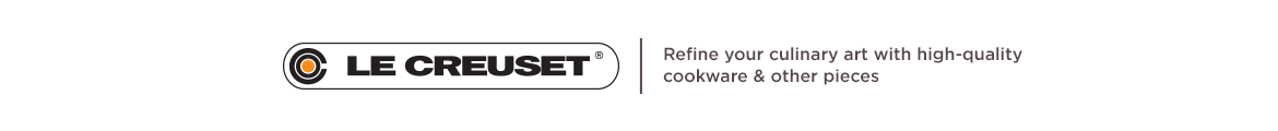 Le Creuset.  Refine your culinary art with high-quality cookware & other pieces