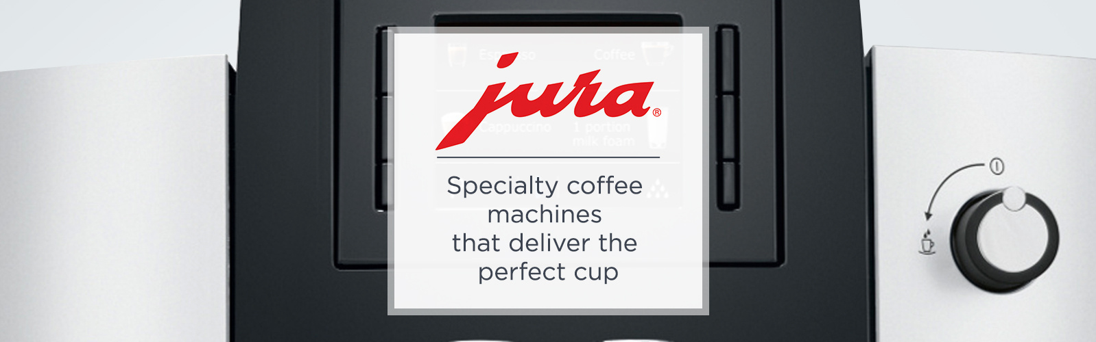 Jura Specialty coffee machines that deliver the perfect cup