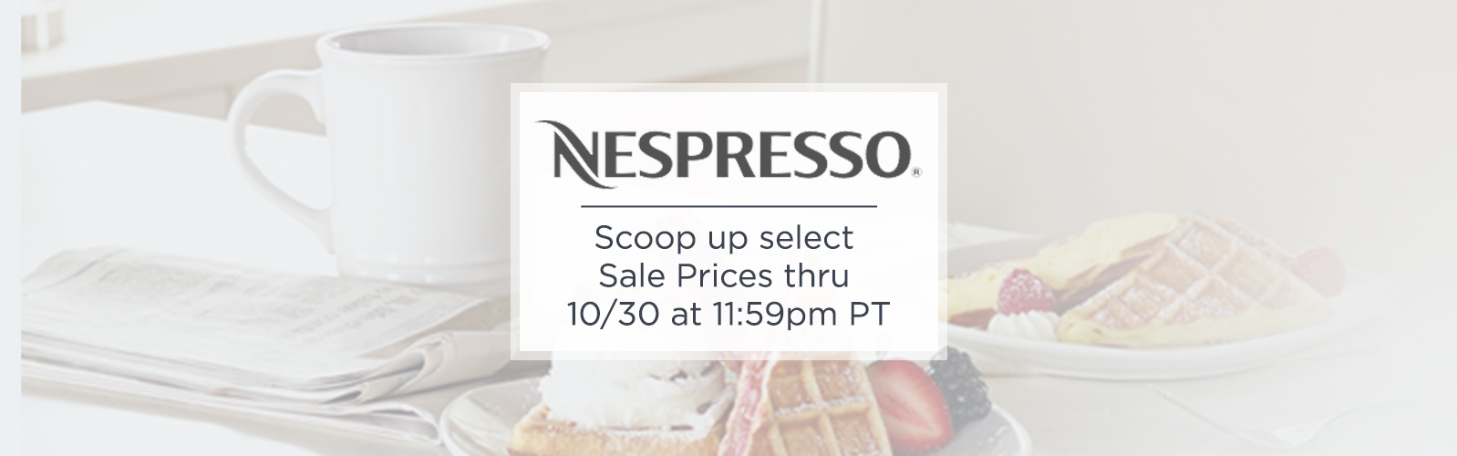 Nespresso - Scoop up select Sale Prices thru 10/30 at 11:59pm PT
