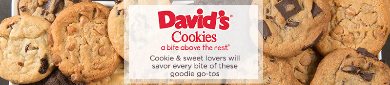 David's Cookies. Cookie & sweet lovers will savor every bite of these goodie go-tos