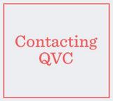 Contacting QVC