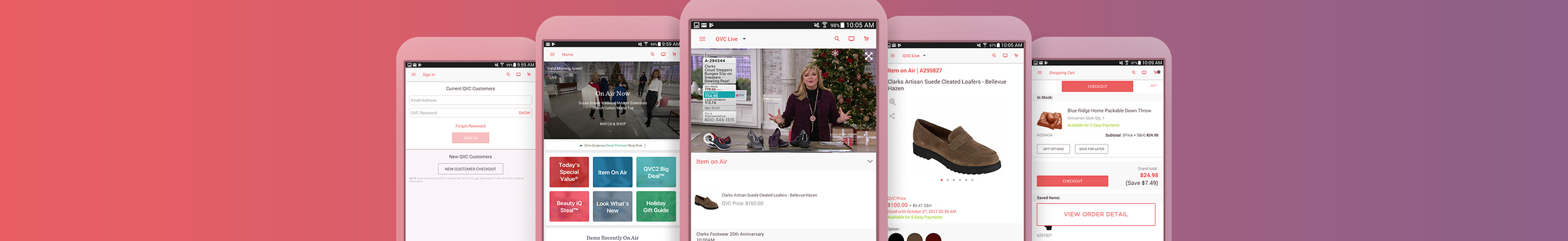 QVC for Android