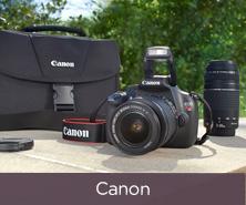 Canon Rebel DSLR Camera