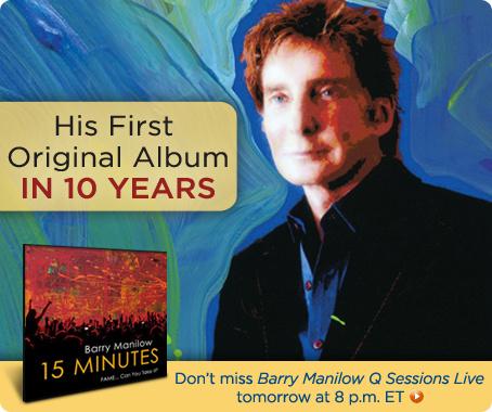 Barry Manilow 15 Minutes album